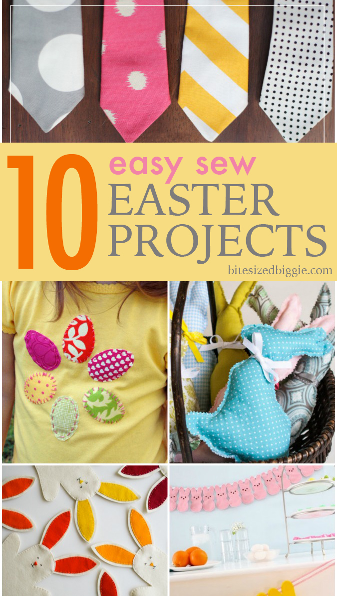 10 Easy Sew Easter Projects