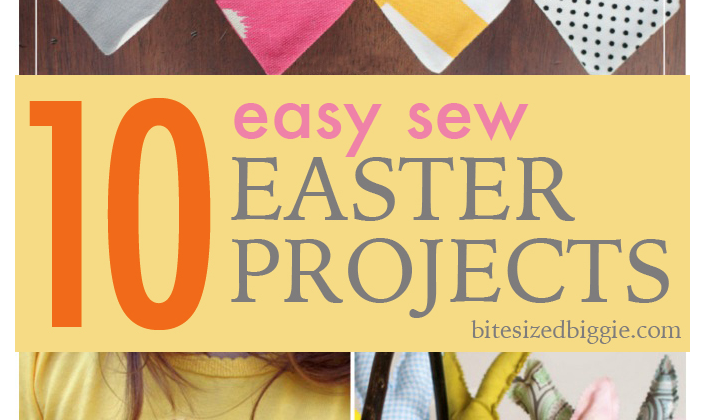 10 easy sew easter projects negle Images