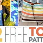 12 FREE Tote Bag Patterns