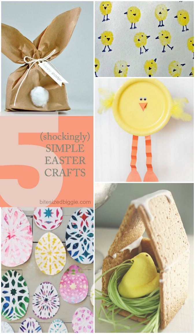 5 *simple* easter crafts - beautiful results without any tears!