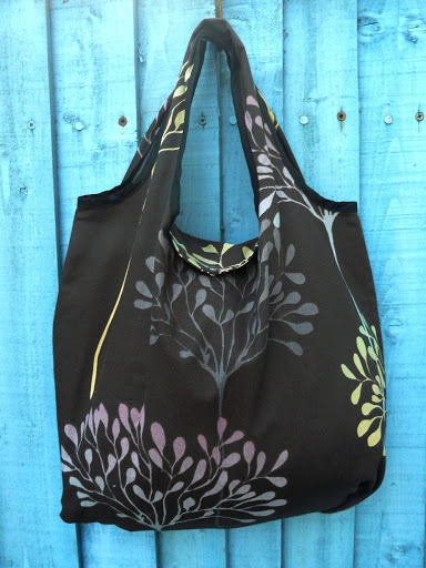 Fold away market bag