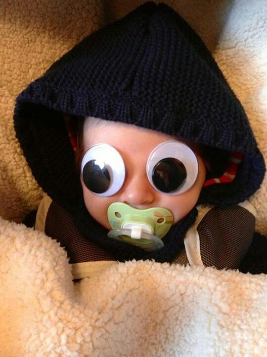 Googly Eye your baby!