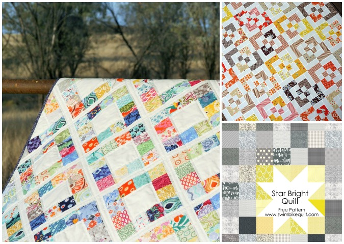 Free Patterns for Easy Charm Square Quilts - Bite Sized Biggie : charm quilt patterns easy - Adamdwight.com