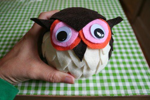 Googly Eyed Owl
