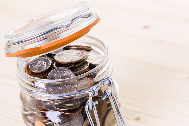 "Start a ""change for change"" jar!"