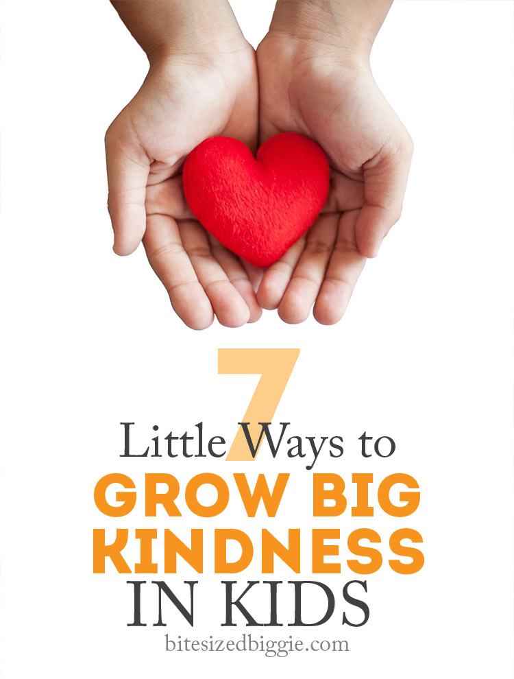 Simple ways to help kids see a bigger world around them and share kindness