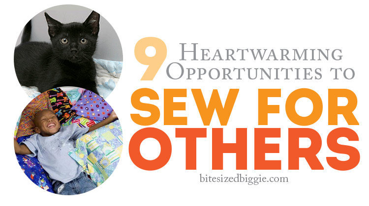 9 charity sewing opportunities