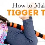 Make a TIGGER TAIL!