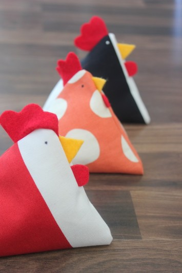 Chicken pattern weights