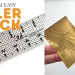 Quick and Easy Ruler Trick – Make a Handle!
