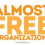 Almost Free Organization Ideas!