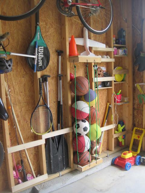 bungee cord ball organizer