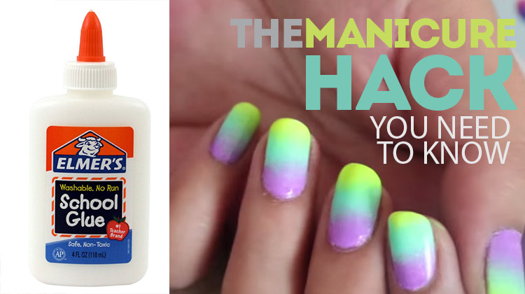 The Manicure Hack you need to know! So simple!