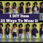 1 Quick Sew Scarf, 25 Different Ways to Wear It!