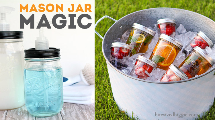 Everything there is to know about or do with a mason jar for Projects to do with mason jars