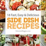 18 Fast, Easy and YUMMY Cookout Side Dish Recipes
