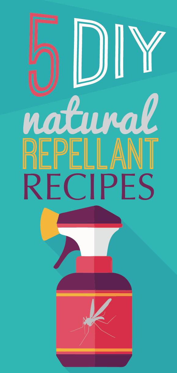 5 DIY Natural Bug Repellant Recipes