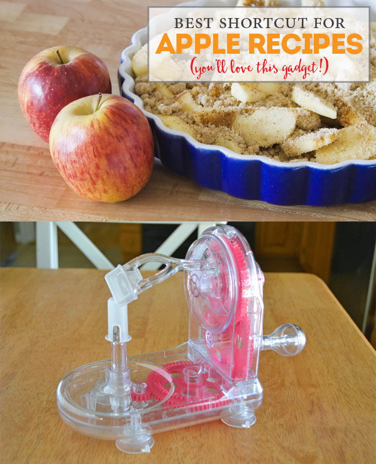 Apple Recipes Shortcut - such a great gadget - under $10!