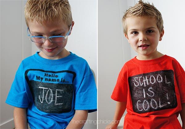 Chalkboard Shirts