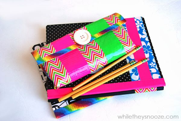 Duck Tape Pencil Case