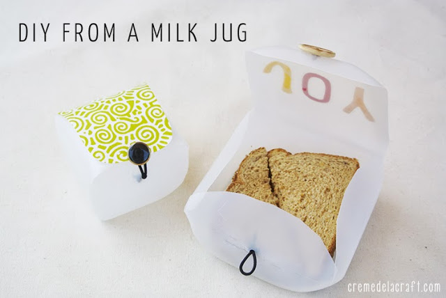 milk jug container