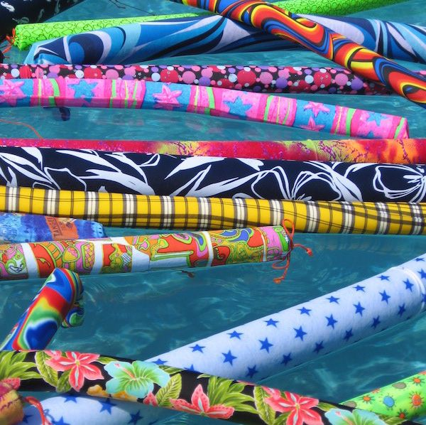 pool noodle covers