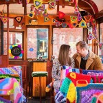 Wow! This Yarn Bombed Tram is Incredible!