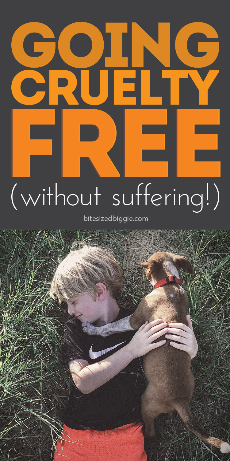 Going cruelty-free - without suffering! There are great products out there that are not only not tested on animals, they're more natural and better for you too! You won't miss a thing!