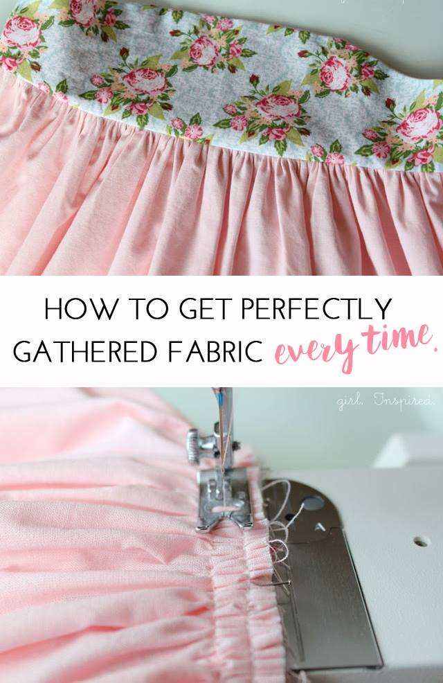 How to Gather Fabric Perfectly Every Time