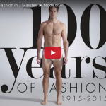 100 Years of Men's Fashion in Just 3 Minutes!