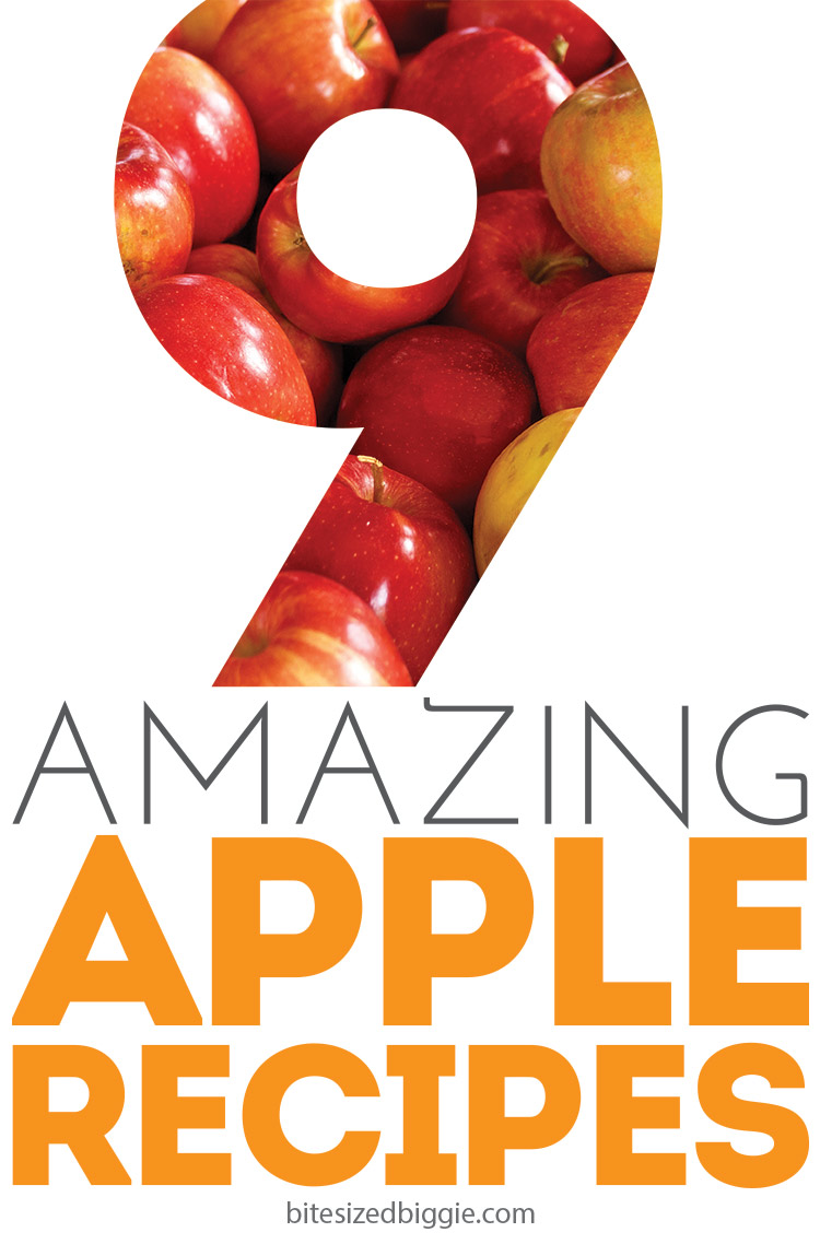 9 Amazing APPLE recipes! And they taste as great as they smell!
