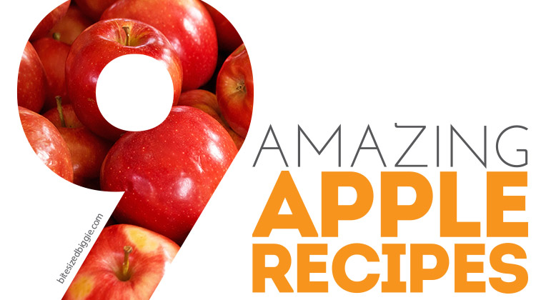 9 Amazing Apple Recipes - that taste as great as they smell!