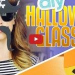 The CUTEST DIY Halloween Glasses