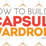 How to Build Your Own Capsule Wardrobe