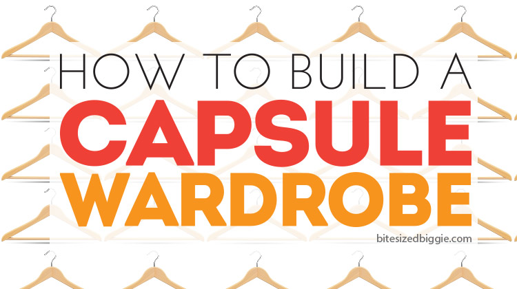 How to build a capsule wardrobe - it's easier than you think - these tips are so helpful!