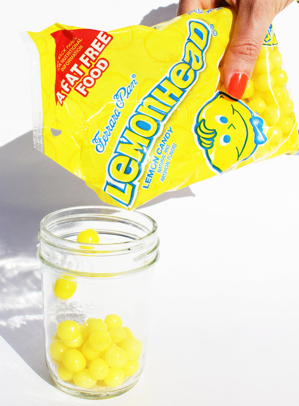 How to make Lemonhead vodka - makes a terrific gift!
