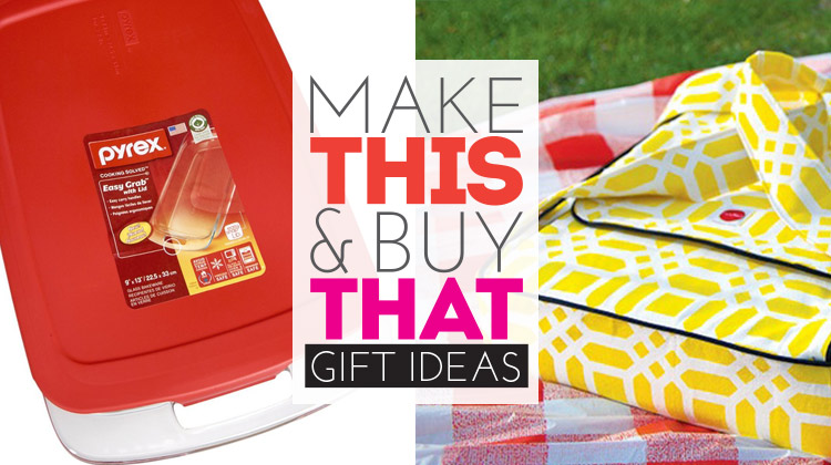 Make This & Buy That Gift Series: Casserole Carrier