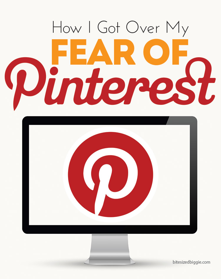 Pinterest doesn't have to be overwhelming! Tips for getting started and how I got over my fear