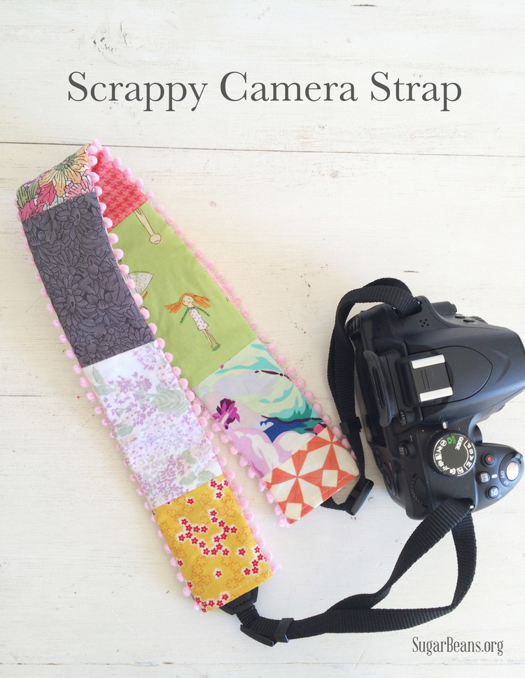 How to make a scrappy camera strap