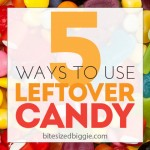 5 Ways to Use Leftover Halloween Candy!