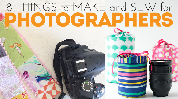 8 Things to Make and Sew for Photographers! Simple projects that are totally do-able!