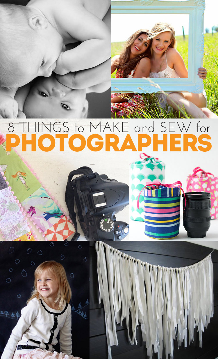 8 great DIY projects for photographers - easy projects to make and sew