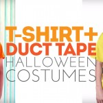 Last Minute Halloween Costume Using Duct Tape and a T-Shirt!