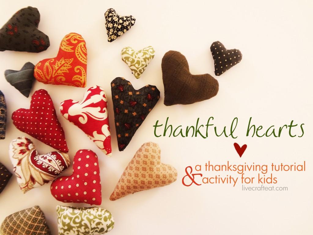 thankful heart tutorial
