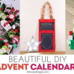 Countdown to Christmas: Beautiful DIY Advent Calendars
