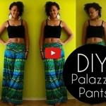 Easy DIY Palazzo Pants