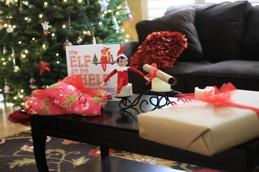 Elf On the Shelf Book and Elf
