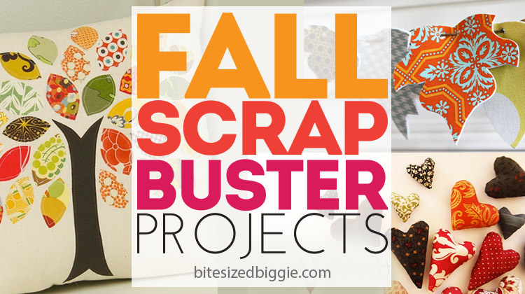 Fall scrap buster projects