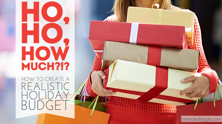 Ho Ho HOW Much? How to budget for Christmas without going broke or going crazy