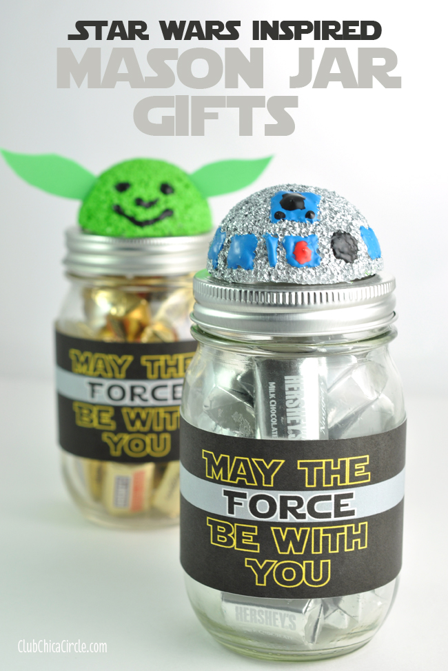 Star Wars Mason Jars